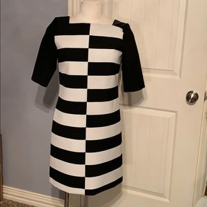 ‼️CLEARANCE‼️MILLY Black and White Dress